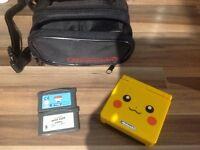 Pikachu Nintendo GameBoy Advance SP Bundle