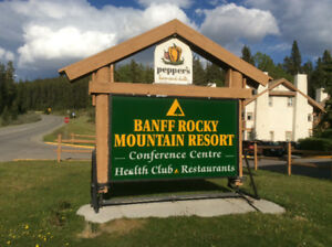 Banff Rocky Mountain Resort for Weekly Rent