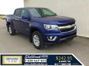 """2017 Chevrolet Colorado 4WD LT- LOW KM, 8"""" TOUCH - $242.95BW!"""