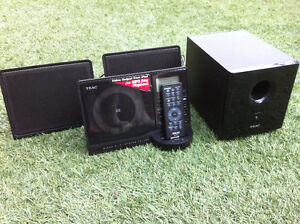 TEAC Ultra Thin Hi-Fi System with iPod Dock and Aux Port