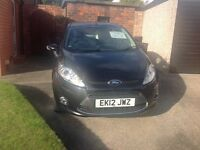 Ford Fiesta 1.4 diesel 5 door 2012 Black.38.000