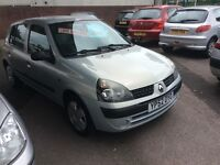 2002 Renault Clio 1.2 Authentique-51,000-10 months not-Full service history-great value