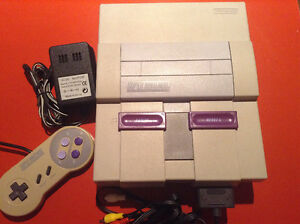 Console SNES Super Nintendo / Super Mario World SNES