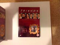 Friends series 10 DVDs