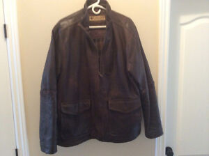 Columbia genuine cow hide leather jacket