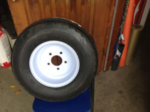 One only brand new trailer tire and rim 20.5 x 8.0 -10