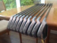 Full set of Titleist DTR irons, 3iron to SW. £65 ono