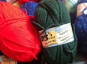 Knitting Wool for Hand Made Clothes Large Lot Of 80+ 2 Boxes $80 Kitchener / Waterloo Kitchener Area image 3