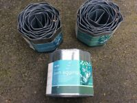 Gardman Galvanised Lawn Edging 5m x 18cm