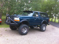 92 Lifted Bronco Beauty