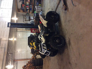 Need gone 6000 obo 2013 white Polaris scrambler