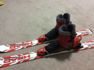 Head skis and techno boots