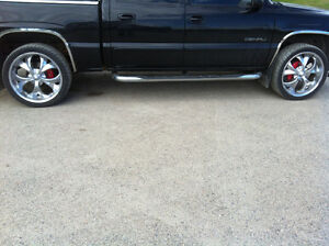 GM truck tire and rims