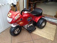 Toddler electric motor bike