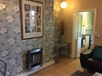 Double room in 3 bed flat a mile from Quayside