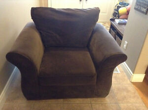Chocolate brown Armchair