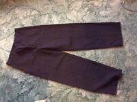 Boys Black school trousers varies ages 10, 11-12 & 12-13