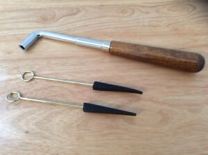 Student Piano Tuning Hammer & 2 String Mutes