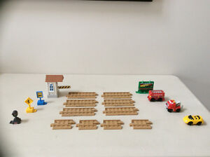 Fisher Price Geo Trax add on track pieces and accessories Cambridge Kitchener Area image 1