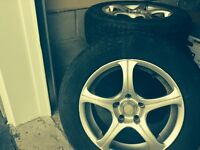 RIMS & TIRES !!** NEW PRICE !!** IN MINT CONDITION !!
