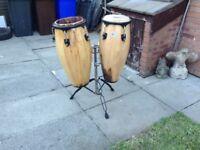 Conga drums cheap for repair