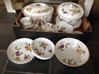 Royal Worcester Evesham oven to tableware