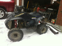 2001 Polaris 500 H.O. Scrambler Parts