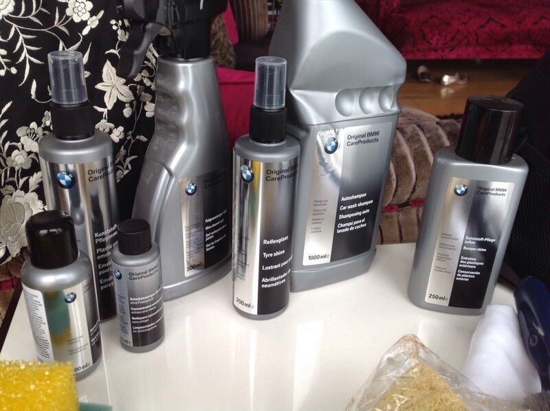 Bmw Owners Professional Car Cleaning Kit And Laptop Bag Complete