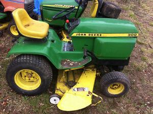 John Deere 300 316 318 330 332 Garden Tractor Riding Mower Peterborough Peterborough Area image 1