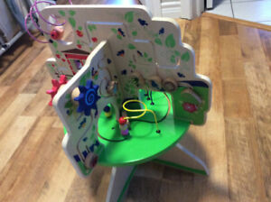"Manhattan Toy Company ""tree top adventure"" kids bead play table"