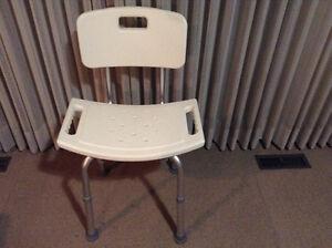 Shower chair with back Edmonton Edmonton Area image 1