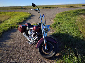 2003 Heritage Classic Softail with 180 rear kit