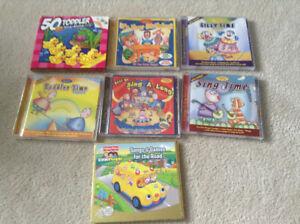 Children's Sing a long CDs