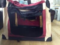 Colapsable folding dog cage / kennel