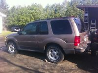 Ford explore 2002 150 km ! Make offer