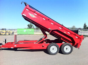 Dump Trailer Rentals FROM $ 100 per day
