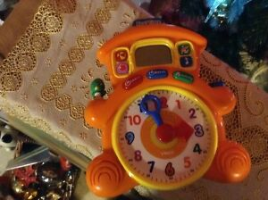 VTECH HORLOGE. REAL TIME. LEARNING TIME CUCKOO CLOCK Gatineau Ottawa / Gatineau Area image 3