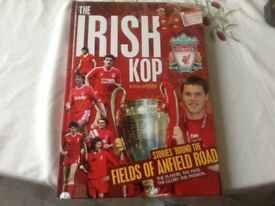 """ Irish Kop "" Hardback book"