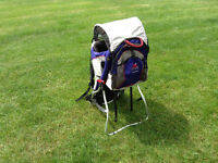 A Kelty Pathfinder Kid carry-on