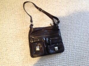 Beautiful Danier Leather crossbody purse
