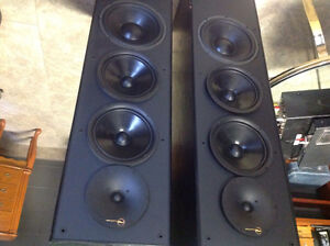 Nuance professional series powered speakers