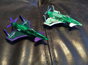 BUBBA - 2 Lex Luther Hot Wheels Airplanes