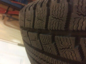 Winter Tires -Set of Four Campbell River Comox Valley Area image 3