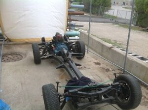 Spitfire project car - rolling chassis and interior