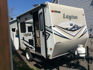 Roulotte Hybride 15 pied Layton model 131