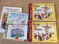 Violin books - beginner / child