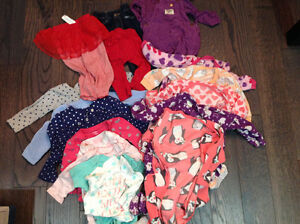 Size 12 months baby girl clothing and pj's London Ontario image 1