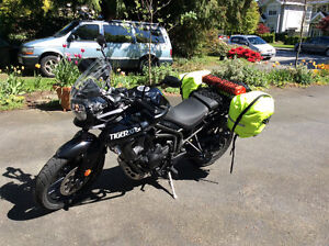 Triumph Tiger XRX Low ....factory lowered suspension save $6,000