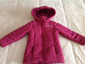 One time worn Guess girl jacket for fall or spring size 6 years