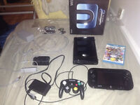 Wii U complete set with 2 games